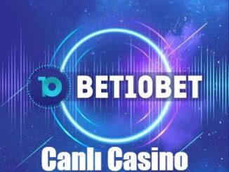 Bet10bet Canlı Casino