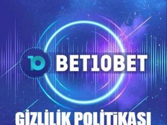 Bet10bet Gizlilik Politikası